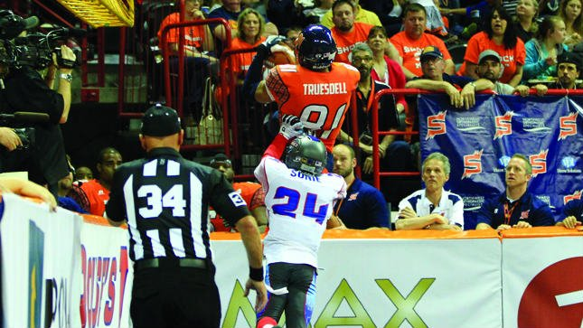 Can Nick Truesdell mimic his performance that helped the Shock defeat Jacksonville. (Photo: Spokane Shock)