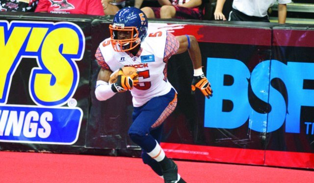 The Shock fell in the final seconds for the third time this season in Saturday's loss to Jacksonville. (Photo: Spokane Shock/AFL)