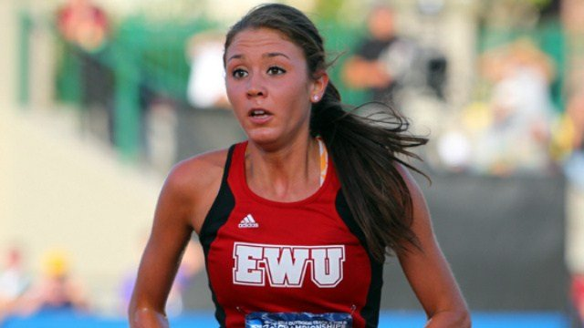 Catie Arrigoni and her fellow Eagles impressed at the NCAA Outdoor Championships in Eugene, Ore. over the past two days. (Photo: EWU Athletics)