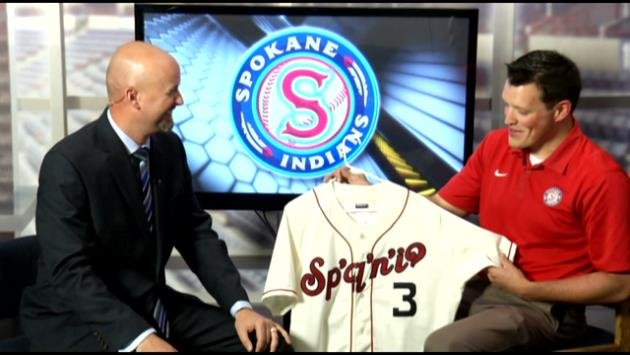Indians Director of PR and Sam Adams are both giddy and excited for the local baseball season to begin.