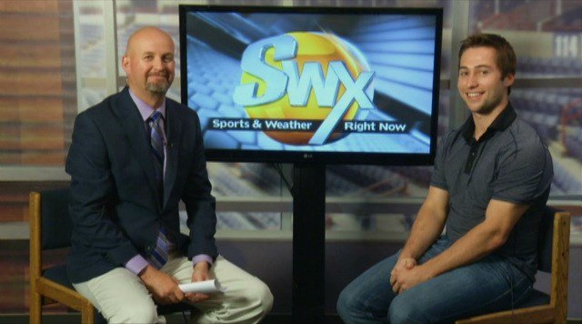 Tyler Johnson joined SWX's Sam Adams in studio to talk about the upcoming Hockey Fest event at Frontier Ice Arena that he will be apart of.