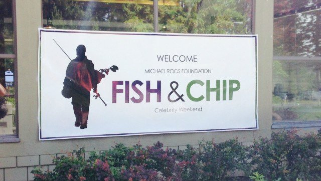 The Michael Roos Foundation's 6th annual Fish and Chip Celebrity Weekend kicked off on Saturday, June 21.