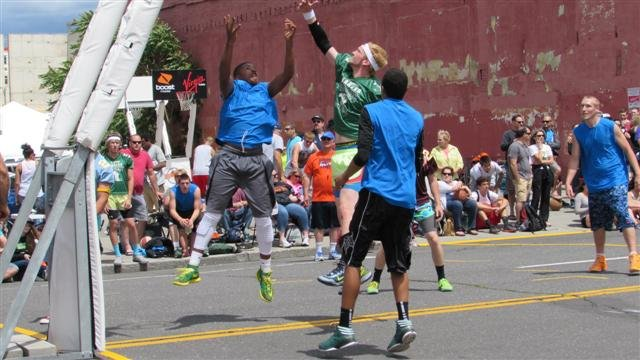 The action at Hoopfest tipped off on Saturday.