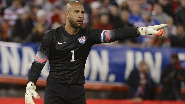Tim Howard set a World Cup record with 16 saves but the USA fell just short vs Belgium 2-1. (Photo: USA Today Sports)