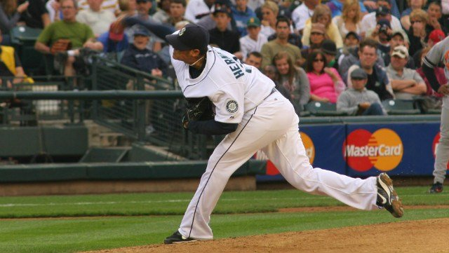 King Felix was named June's American League pitcher of the month. (Photo: Wiki)