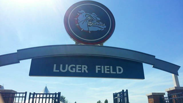 The Gonzaga Soccer field will hencefoth be dedicated to the Luger family for their contributions to the school. (Photo GU Athletics)