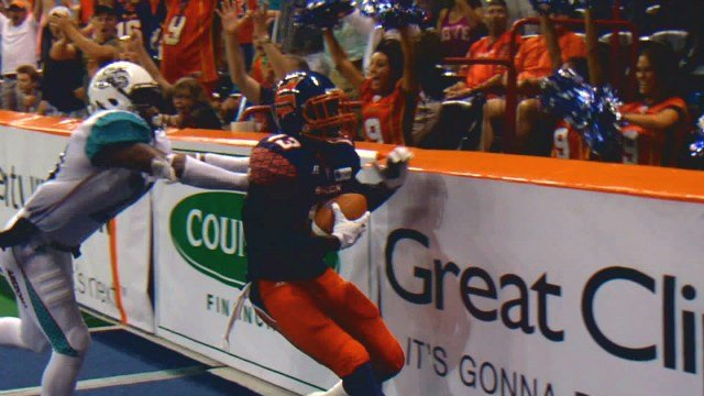 Rashaad Carter's late TD was the spell the Shock needed to break the curse Arizona had over them since 2012.