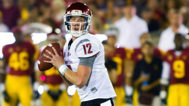 Connor Halliday has signed with the Washington Redskins after going undrafted in the 2015 NFL Draft. (Photo: WSU)