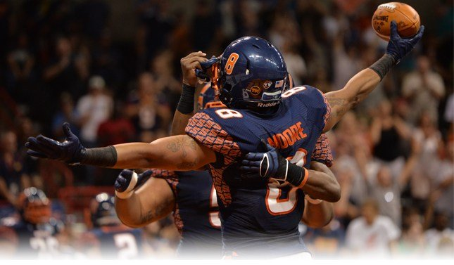 The Spokane Shock will look to take it to the Storm when they visit on Monday. (Photo: Zach Edwards)