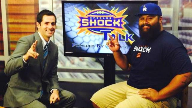 Former Idaho Vandal Sam Tupua joined John Collett in the Fasteners Sports Studio for Shock Talk.