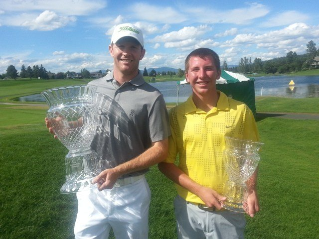 Tim Feenstra wins the 27th Rosauers Open Invitational