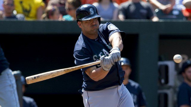 Kendrys Morales will re-join the Mariners less than a year after leading the team in batting average, hits and RBI. (Photo: Wikimedia)