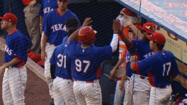 Wearing Texas uniforms the Spokane Indians topped Vancouver 6-2 on Monday night.