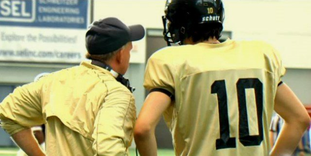Idaho head coach Paul Petrino has yet to name a quarterback and his defense didn't help in the Vandals scrimmage on Saturday.