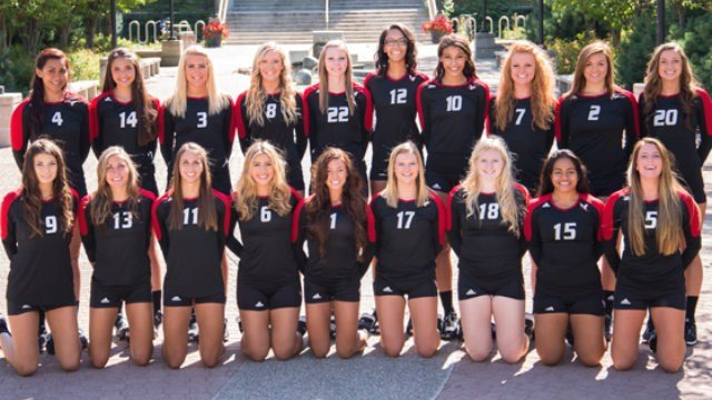 EWU is expecting big things from its volleyball team in 2014. (Photo: EWU Athletics)