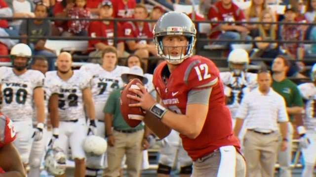 Connor Halliday proved why he is one of college football's best passers in WSU's rout of Portland State.