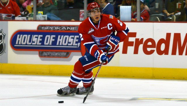 High resoliution shots of the Spokane Chiefs home opener vs. the Tri-City Americans on Sept. 27. (Photo: Reed Schmitt)