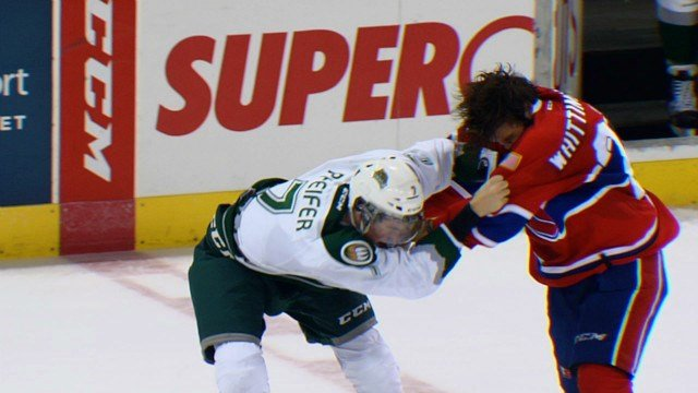 The Chiefs slugged it out with Everett but the Silvertips offense was too much, winning 5-1.