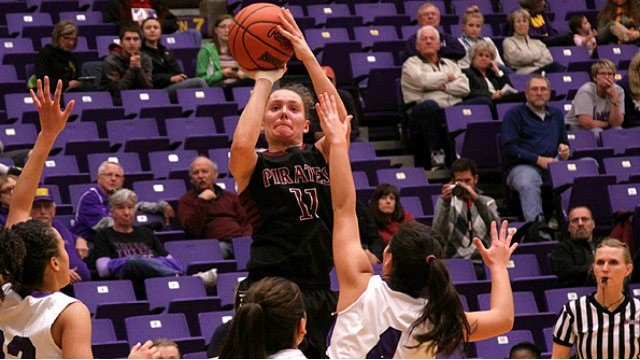 KC McConnell scored 21 points to lead Whitworth to a 67-42 win over visiting Lewis & Clark. (Photo: Col. of Idaho)