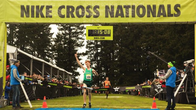Tanner Anderson is now the two-time Nike Cross Nationals champion. (Photo: Nike)