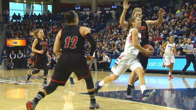 The Gonzaga women's basketball team scored an 80-50 win at Colgate on Sunday.