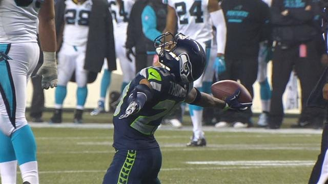 Earl Thomas III and the Seattle Seahawks will continue in the playoffs after a convincing win over Carolina.