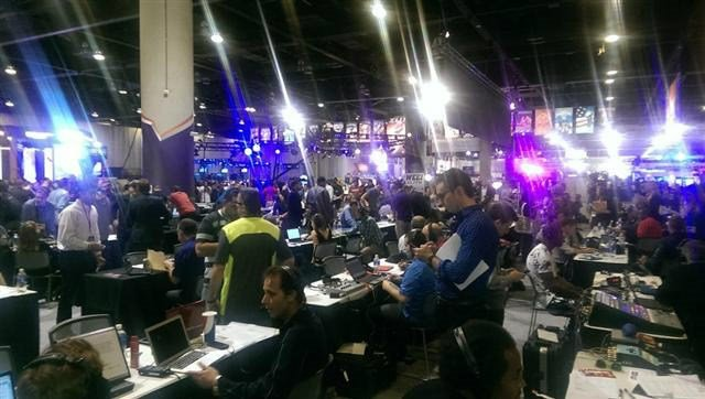 Radio Row at the Super Bowl is hopping with interviews today.