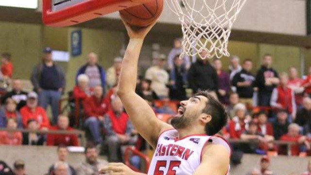 Venky Jois and the Eagles fell in their rematch with Seattle U. (Photo: EWU)