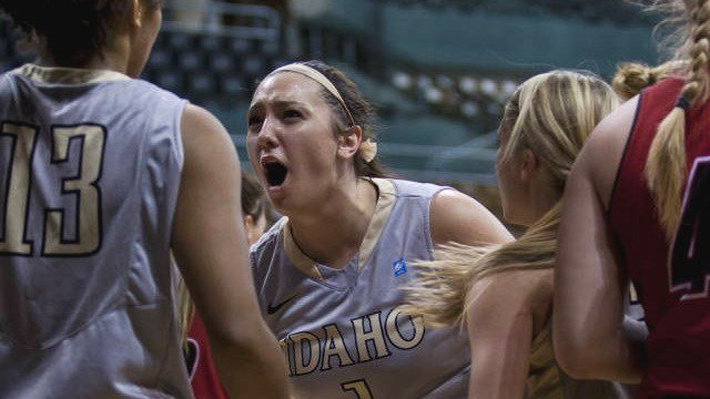 Christina Salvatore and Idaho used a team effort to take down NAU Thursday night (Photo: Idaho)