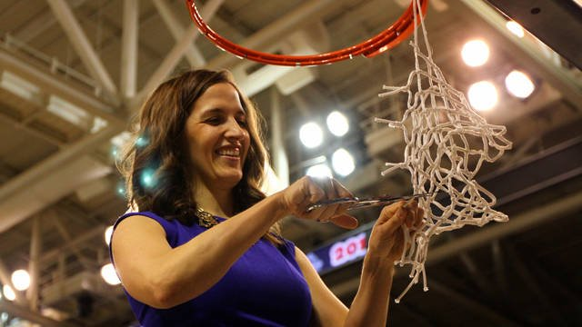 Gonzaga's Lisa Fortier led the Gonzaga women to the Sweet 16 in her first season as a head coach.