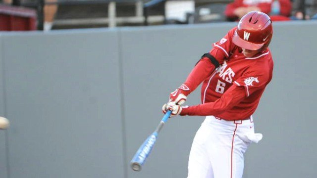 Ian Sagdal was among the five WSU players taken in the MLB Draft. (Photo: WSU)