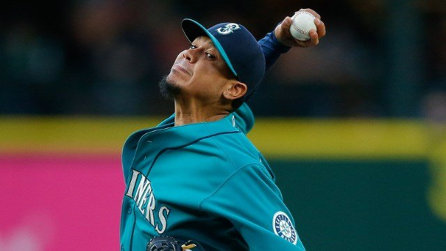 King Felix earned his 18th win of the season on Sunday. (Photo: Mariners)