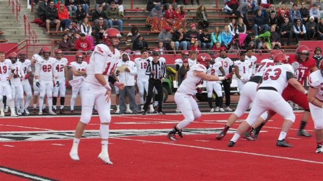 Jordan West and the Eagles offense started slow but finished strong in the Red and White game on Saturday.