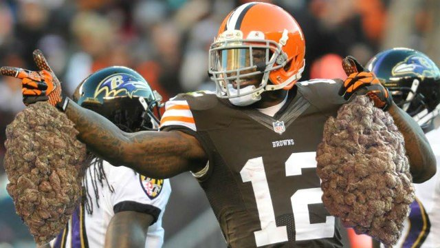 Josh Gordon is public enemy No. 1 for the NFL when it comes to cracking down on marijauna.  (Photo: thenug.com)