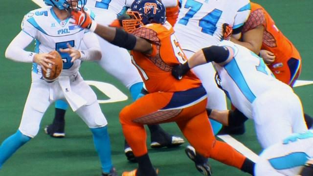Spokane Shock nose guard Terrance Taylor was named the AFL Defensive POTW.