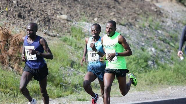 Allan Kiprono and Kevin Kochei plan on going neck-and-neck again in the 2015 running of Bloomsday.