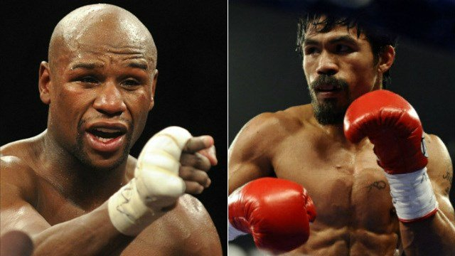 Floyd Mayweather Jr. and Manny Pacquiao will square off for the first time ever on Saturday.