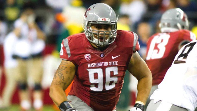 Former WSU defensive tackle Xavier Cooper was taken in the third round of the NFL Draft on Friday. (Photo: WSU)