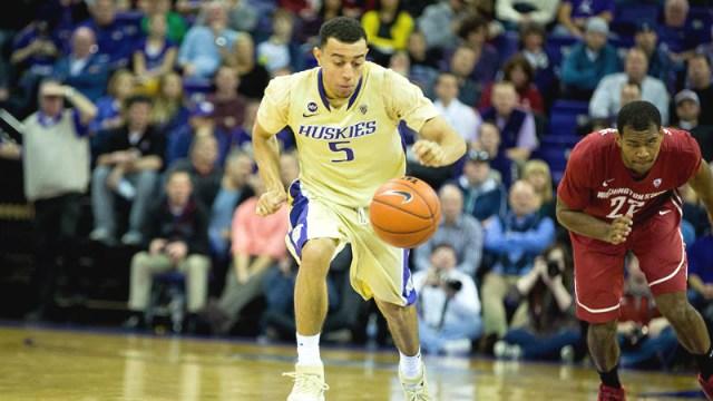 Nigel Williams-Goss has decided to transfer from Washington to Gonzaga. (Photo: UW)