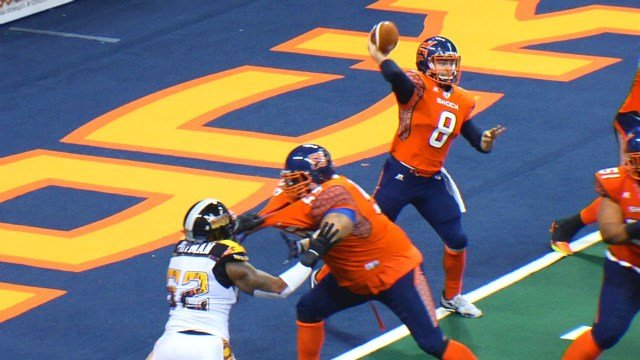 Warren Smith picked up J. Lewis Small Playmaker of the Week honors in his AFL debut.