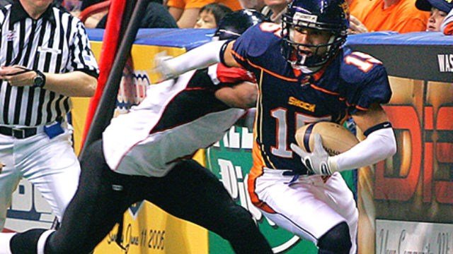 Raul Vijil in action for the Shock, who will honor him by retiring his jersey on Saturday. (Photo: Shock)