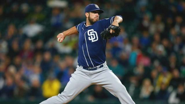 James Shields moved to 5-0 after a strong game from the Padres ace. (Photo: Padres)