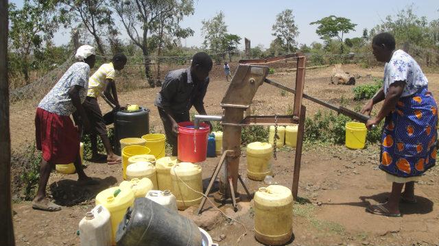 The SpoKenya Run/Walk helps Spring of Hope International bring water to villages like David's. (Photo: David Opap)