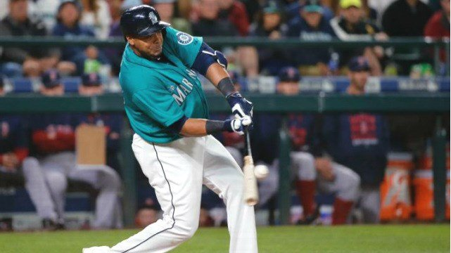 Nelson Cruz came up with the walk-off RBI single to lead the Mariners past Boston. (Photo: Twitter/ESPN)