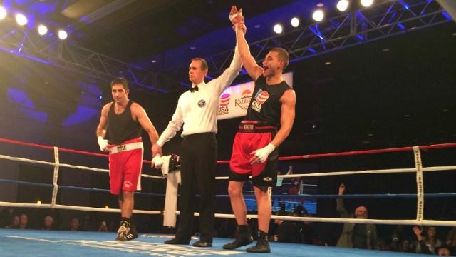 Patrick Ferguson winning USA Boxing's 2015 National Championship. (Photo: TeamUSA)