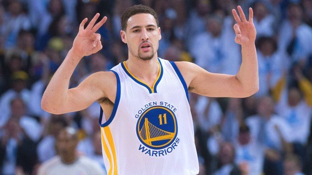 Klay Thompson may need to get the all clear from doctors before playing in the NBA Finals. (Photo: WarriorsWorld)