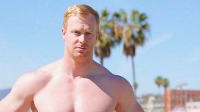 Jon Ryan isn't just a punter for the Seahawks, he's an American Ninja Warrior. (Photo: NBC Screenshot)