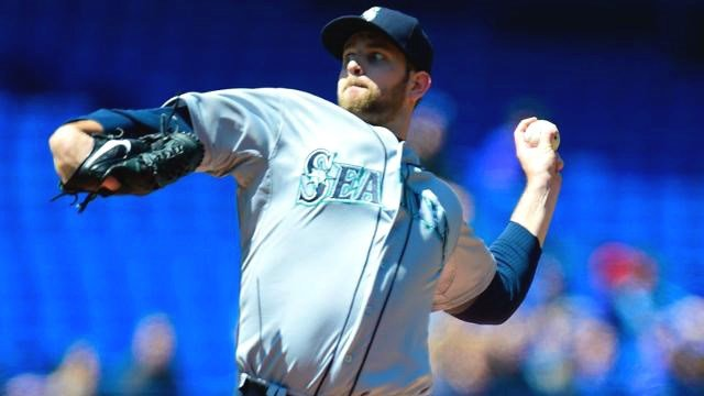 James Paxton helped lead the surging Mariners past Toronto on Saturday. (Photo: Mariners)