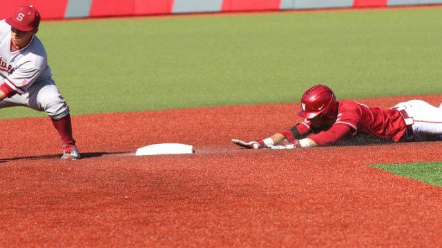 WSU couldn't steal a game from Stanford in their Saturday doubleheader. (Photo: WSU)
