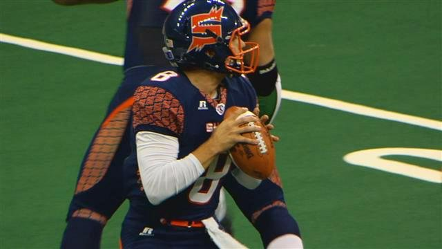 Warren Smith and the Spokane Shock will host the defending ArenaBowl Champion Arizona Rattlers on Satruday.